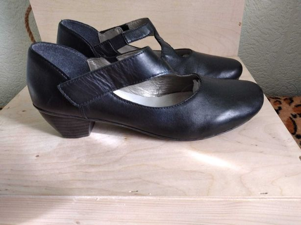 Продам туфли, фирменные RIEKER, 38 размер, кожаные, новые!