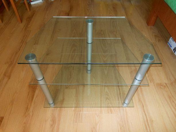 Sprzedam szklany stolik RTV