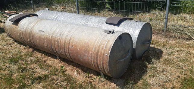 Zbiornik ocynkowany na wodę 2szt