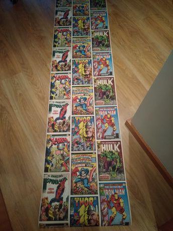 Poster dos heróis da Marvel
