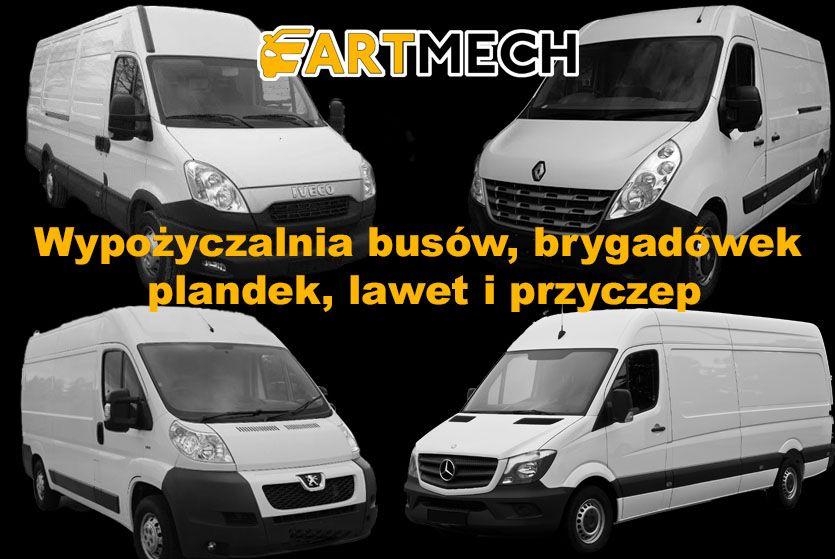 Wynajem busa osobowy blaszak brygadówka plandeka wynajem lawety Bydgoszcz - image 1