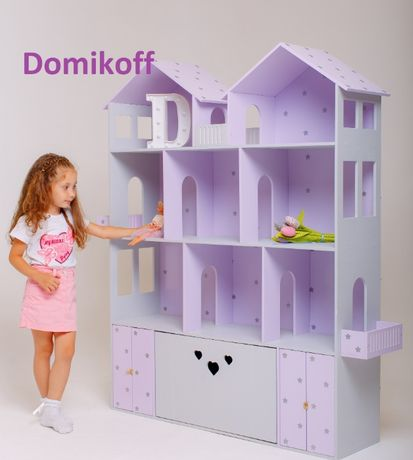 Кукольный домик большой с ящиком