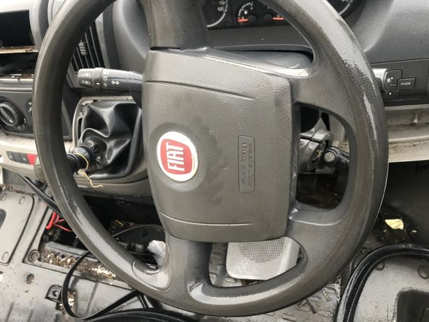 Fiat ducato 2010 kierownica z air bag