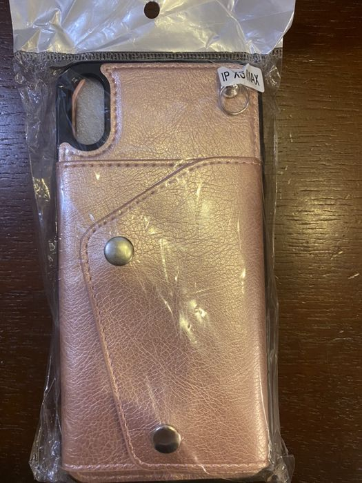 чехол-кошелек через плечо для iPhone ХS MAX Макаров - изображение 1