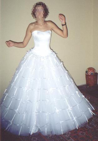 Suknia slubna z firmy Agora rozmiar 36-38/170 cm