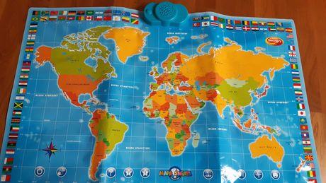 Mapa świata dumel