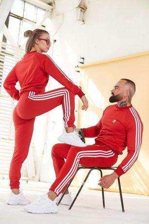 Костюм спортивный Adidas. Свитшот+штаны. Унисекс. Подарок-2 пары носок
