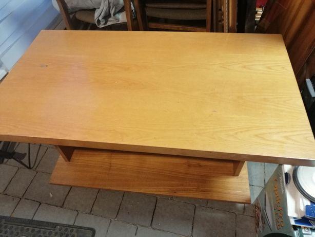 OKAZJA ława stolik kawowy PRL vintage drewno