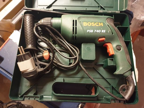 BOSCH PSB 740 RE + walizka