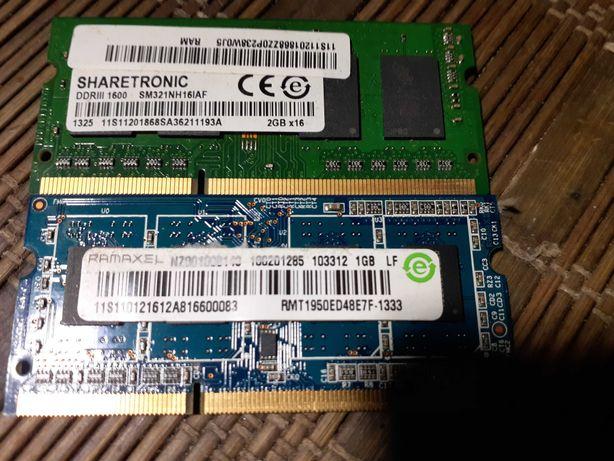 Память DDR3 ноутбук
