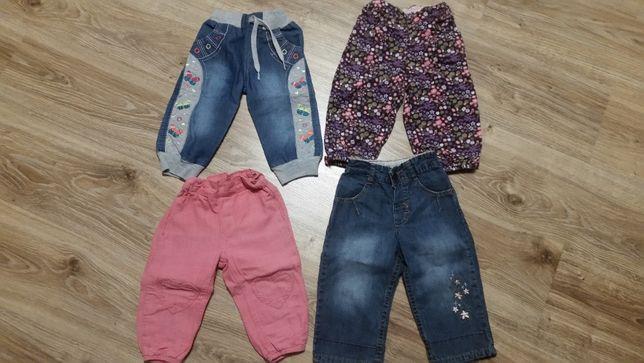 Spodnie i sukienki dla dziewczynki