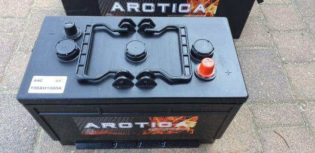 Akumulator rolniczy ARCTICA 190Ah 1000A 6V Nowy !