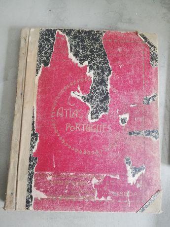 Atlas antigo n. º 218 de João Soares Prof. dos Pupilos do Exercito