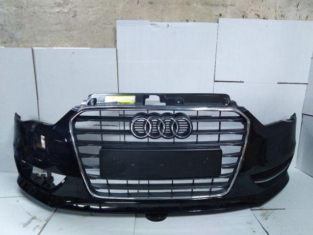 Audi a3 8v3 hatchback lift zderzak przód przedni spryski + dokładka