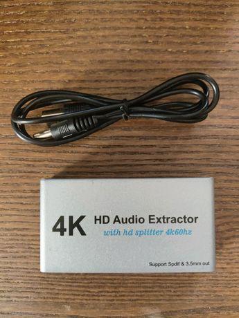 HDMI Extractor 4k w idealnym stanie