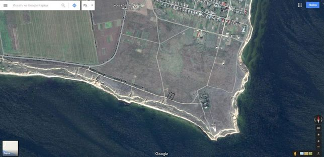 Два участка на берегу моря Рыбаковка