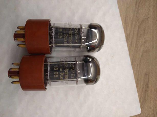 Lampy Electro Harmonix 6SN7 gold dobrana para
