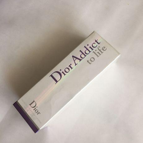 Женские новые духи таулетная вода парфюм christian dior addict to life