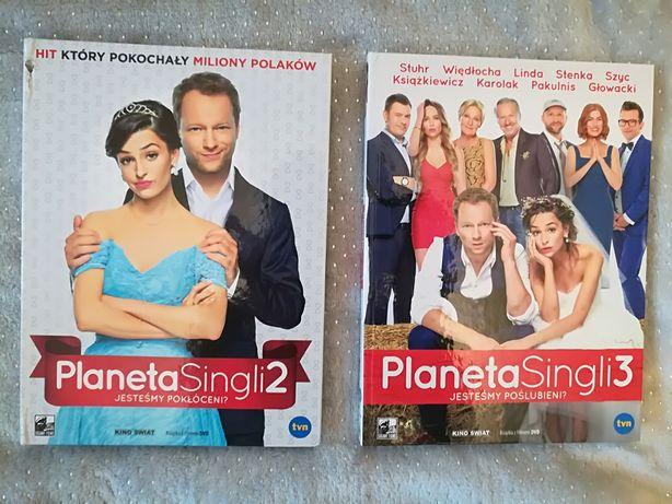 Planeta singli DVD 2 części Romantyczna komedia