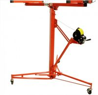Elevador de placas de pladur capac. 54 kg elevação até 3350 mm