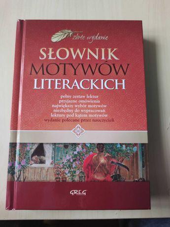 Sprzedam słownik motywów literackich