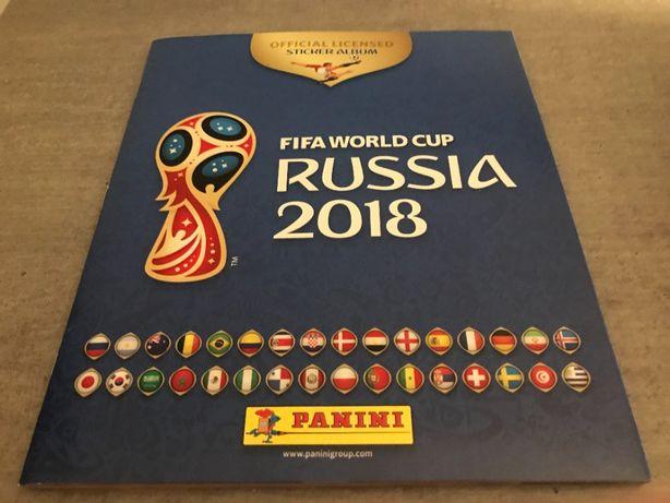 Album Panini World Cup 2018 Russia