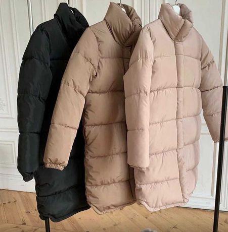 Куртка зимняя (размер 42-44) черная