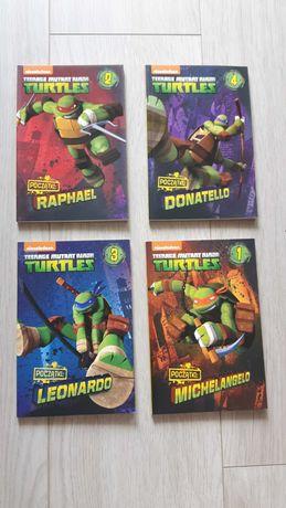 Wojownicze żòłwie Ninja książki