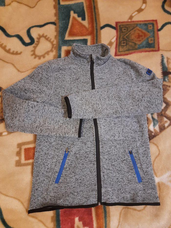 Miękki rozpinany sweter na mrozy 158/164 Białystok - image 1