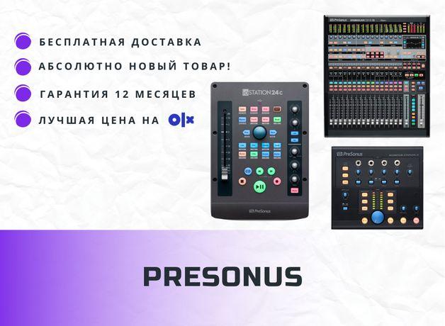 PRESONUS Studio Live CS18AI, IOSTATION 24C, Monitor Station V2