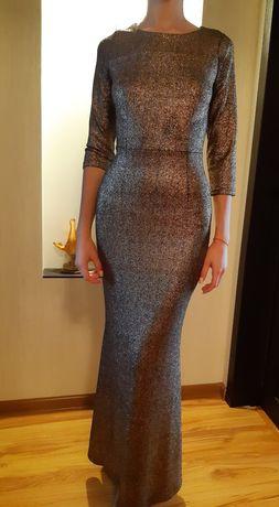 Платье Dolce&Gabbana оригинал,  цвет золото, размер М