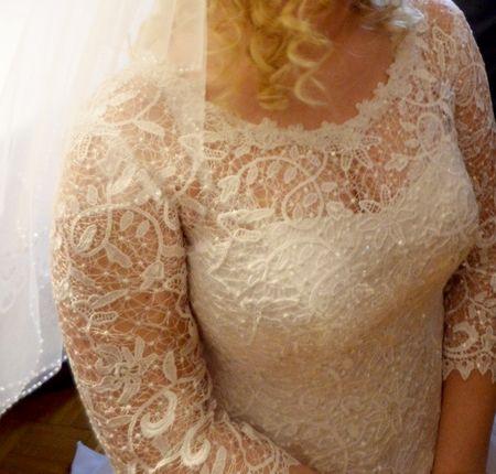 Suknia ślubna rozmiar 40)42