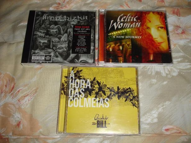 Pack 3 CD's (Limp Bizkit - Celtic Woman - Quinta do Bill)