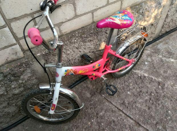 Велосипед для девочки,почти новый