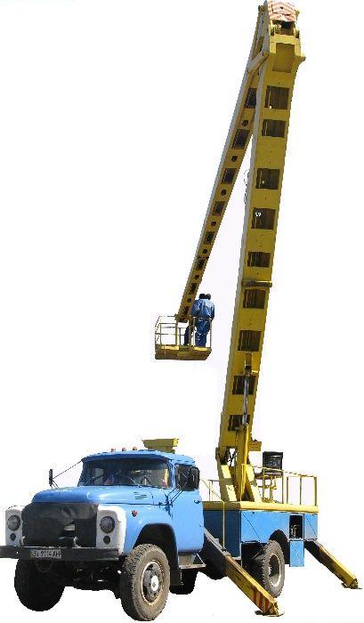 Послуги автопідйомника.Услуги автовышки (автогидроподъемник) АГП-22