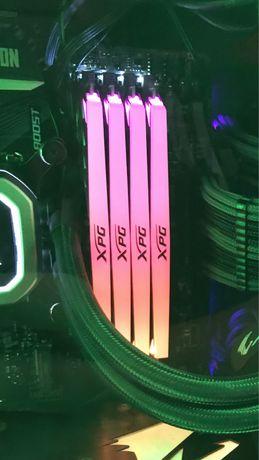 Оперативная память 16Gb (2x8Gb) DDR4 3000 MHz ADATA XPG D41 RGB