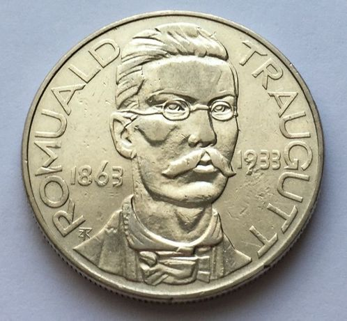 Moneta 10 zł Romuald Traugutt 1933
