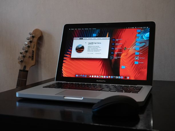 Apple Macbook Pro 13 A1278 mid2010 макбук + SSD 240gb