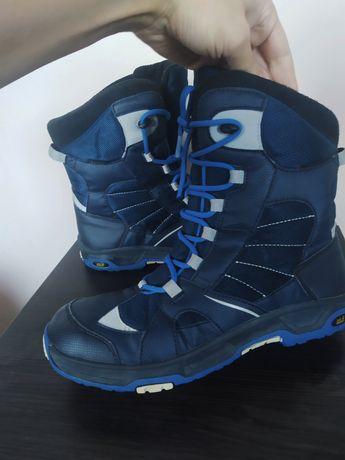 Зимние термо ботинки сапоги jack wolfskin,26.3 ст