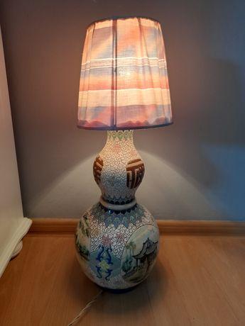 Lampka nocna porcelana