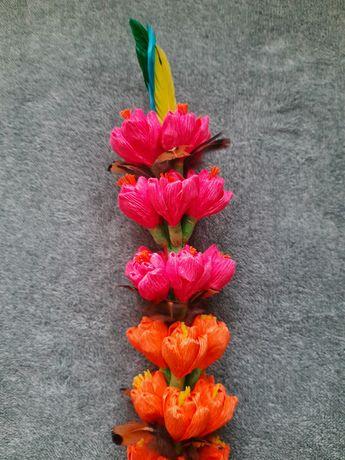 Wyjątkowa palma Wielkanocna ręcznie wykonana wzór 6