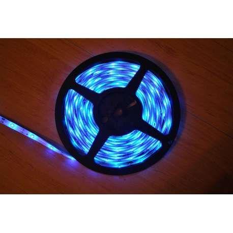 Fita de leds Azul e outras Cores, rolo de 5 metros