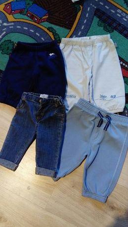 Pierwsze spodnie, jeansy rozm. 60 /markowe spodnie 62