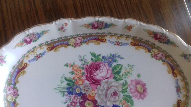 Travessa em porcelana francesa estilo Limoges