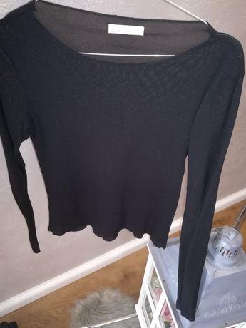 Czarna bluzka promod