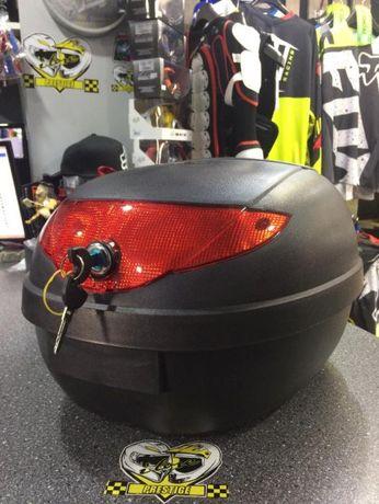Nowy kufer na motocykl, skuter 24 l, mieści kask-sklep Grójec