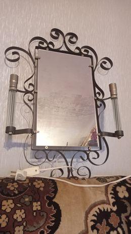 Зеркало СССР с подсветкой