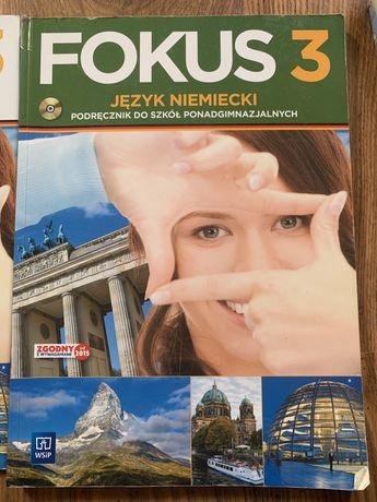 Jezyk niemiecki fokus 3 książka ćwiczenia
