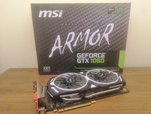 Видеокарта MSI GeForce GTX 1060 ARMOR 6GB