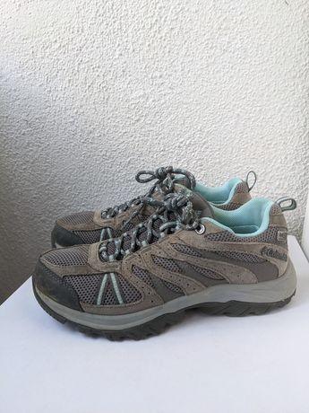 Calçado Columbia - Impermeável de Caminhada Mulher (37) Cinzento Trail